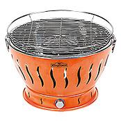 EASY32 HOLZKOHLEGRILL ORANGE            KINGSTONE