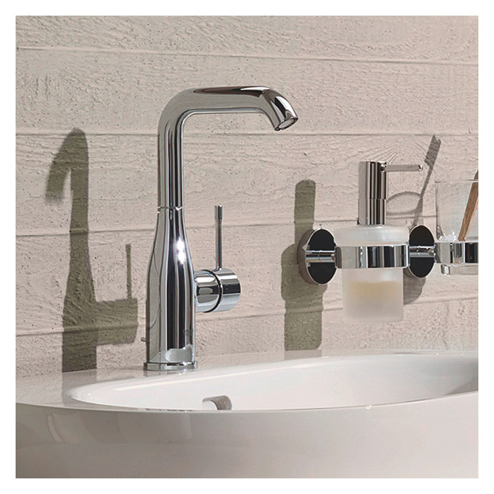 grohe essence new waschtischarmatur chrom gl nzend hoher auslauf 3554 waschtischarmatur. Black Bedroom Furniture Sets. Home Design Ideas