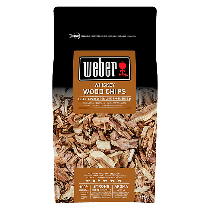 Weber Räucherchips (Whisky, 700 g)