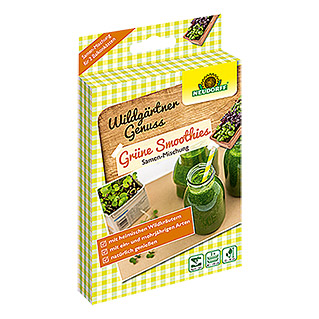 Neudorff Wildgärtner Genuss Saatmischung Grüne Smoothies (2 x 2 g, Aussaat: April - Juli)