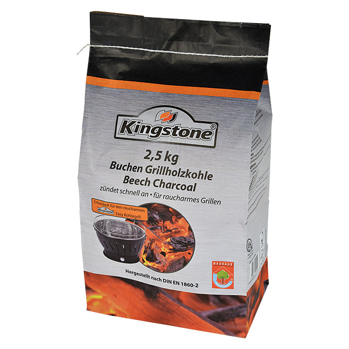 kingstone grill holzkohle 2 5 kg geeignet f r easy grill 32 bauhaus. Black Bedroom Furniture Sets. Home Design Ideas