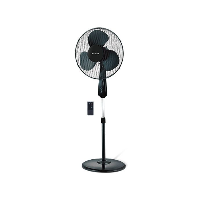 proklima standventilator schwarz durchmesser 40 cm mit fernbedienung m h bauhaus. Black Bedroom Furniture Sets. Home Design Ideas