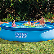 Intex Piscina Easy Pool (Diámetro: 396 cm, Altura: 84 cm, Capacidad: 7.290 l)
