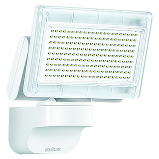 Steinel sensor led strahler x led home 1 wei 12 w 140 for Hausfronten modern