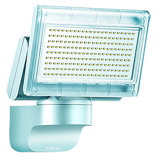 Steinel sensor led strahler x led home 1 silber 12 w for Hausfronten modern