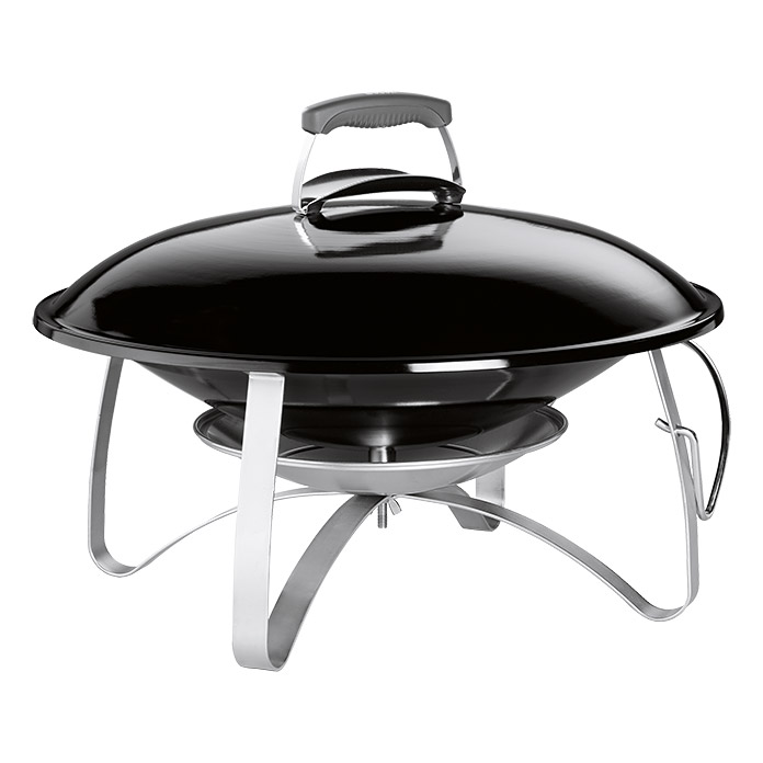 Weber Feuerstelle Fireplace (Black)