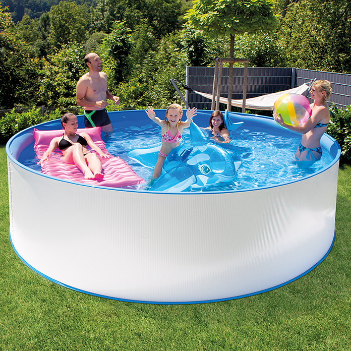 Pool-Set New Splash (Höhe: 90 cm, Fassungsvermögen: 7,8 m³)