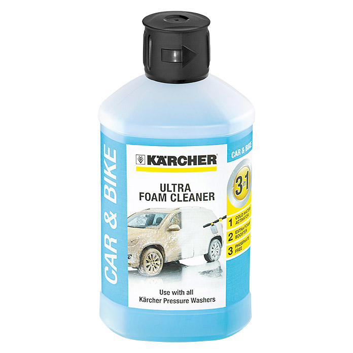 Kärcher Ultra Foam Cleaner Car & Bike