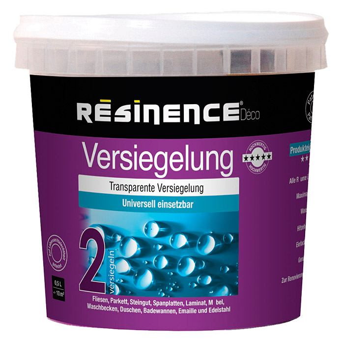 RESINENCE VERSIEG.  500 ml DECO SEIDEN
