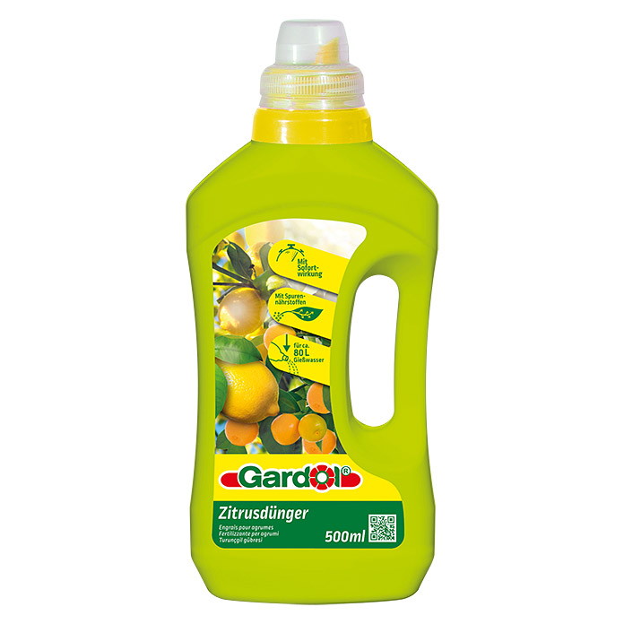 GD ZITRUSDÜNGER    500 ml              GARDOL