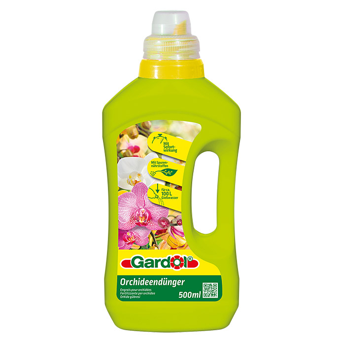 GD ORCHIDEENDÜNGER 500 ml              GARDOL