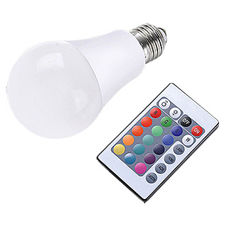 LED-Farbwechsler CLA RGB (7,5 W, E27, RGB-Farbsteuerung, Energieeffizienzklasse: A)