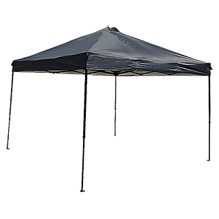 Sunfun Pavillon Easy Up Black (300 x 300 cm, Schwarz)