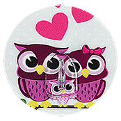 KLEBEHAKEN STICK IT OWLS IN LOVE 3D