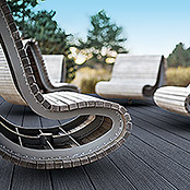 Rettenmeier GCC-Terrassendiele Artwood Living Deck (300 x 19,3 x 1,6 cm, Graphit)
