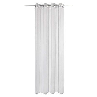 Expo Ambiente Ösenschal Mia (100 % Polyester, 135 x 245 cm, Offwhite)