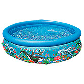 Intex Easy-Pool-Set Ocean Reef (Durchmesser: 305 cm, Höhe: 76 cm, 3.850 l)