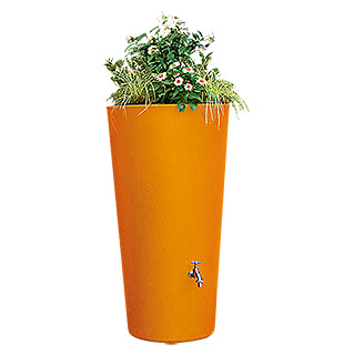 3P Technik Regenspeicher Rainbowl Flower  (150 l, Mango)