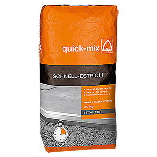 Quick-Mix Schnellestrich