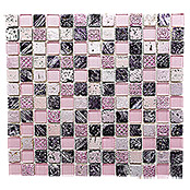 .QUADRAT CRYSTAL/STEIN/RESIN MIX PINK XCM CB 35