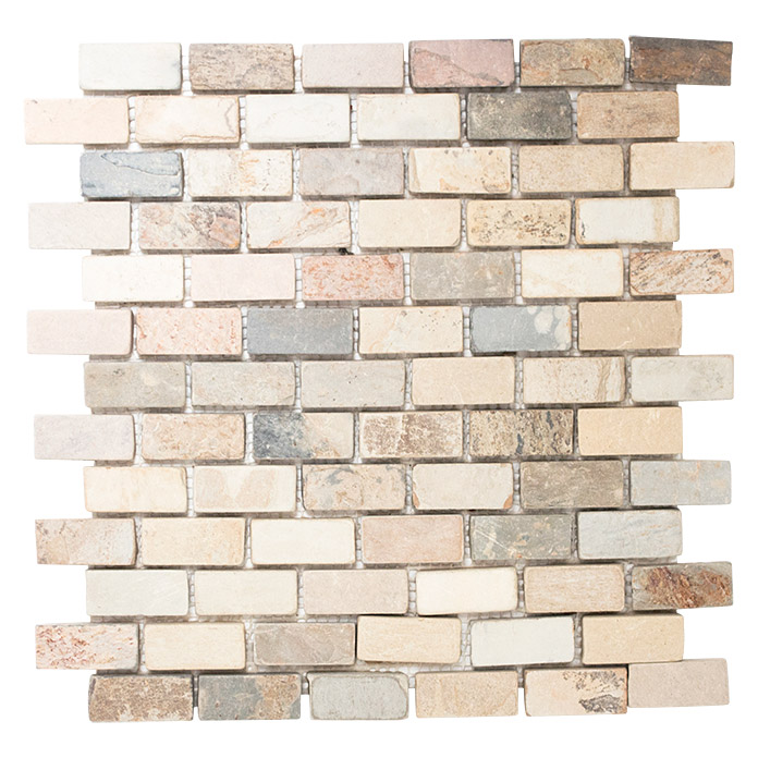 Mosaikfliese Brick Indian Autumn XMI 544