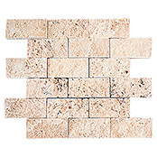 .BRICK SPLITFACE CHIARO TRAVERTINE 3D X3D 42767