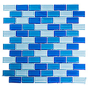 .BRICK CRYSTAL MIX HELLBLAU XCM B822