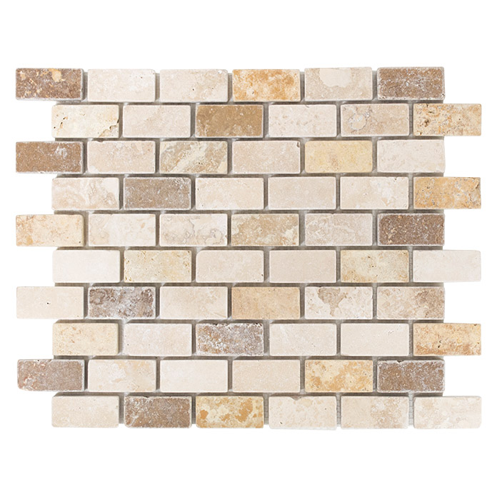 Mosaikfliese Brick Mixtumbled XNT 46474