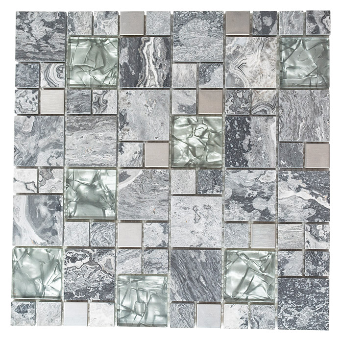 Mosaikfliese Crystal Mix XCM MC609