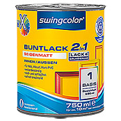 swingcolor Mix Buntlack 2in1 (Basismischfarbe, 750 ml, Seidenmatt)