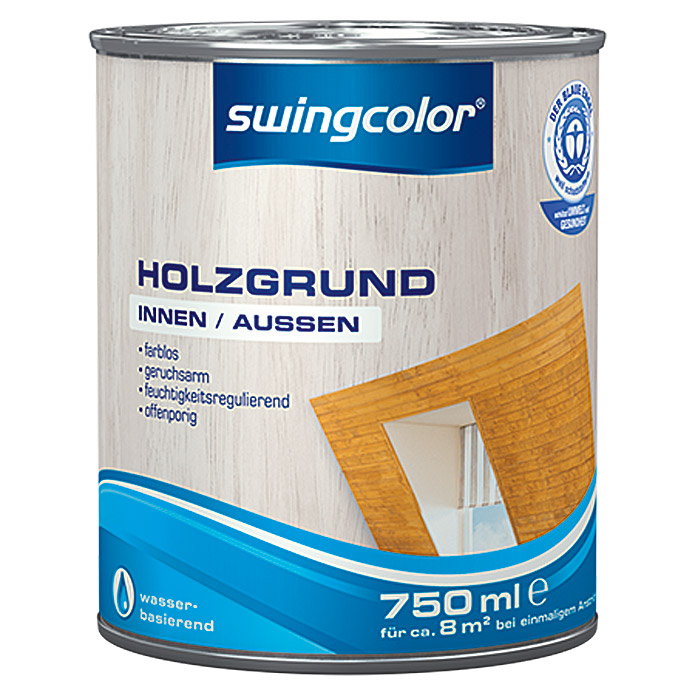 swingcolor Holzgrund  (750 ml, Farblos)