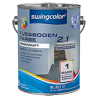 swingcolor Mix Fußbodenfarbe 2in1 (2,5 l, Seidenmatt)