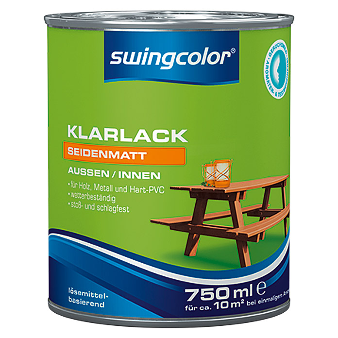 swingcolor Klarlack  (750 ml, Seidenmatt)