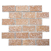 .BRICK INULA NOCHE  ANTIQUE TRAVERTINE  XNT 41241