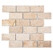 .BRICK INULA CHIARO ANTIQUE TRAVERTINE XNT 41210