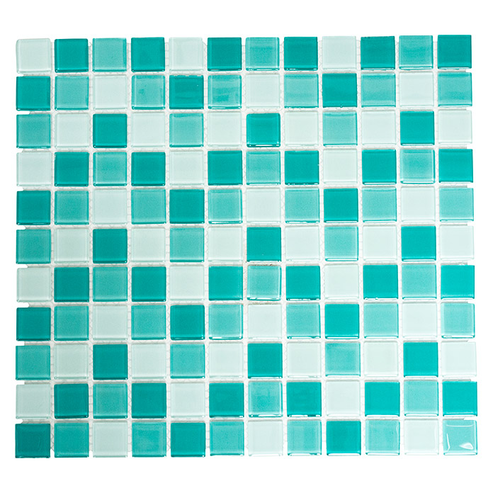 Mosaikfliese Quadrat Crystal Mix CM 4114