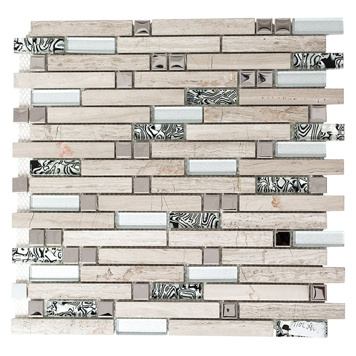 Mosaikfliese Crystal Mix XCM MV818