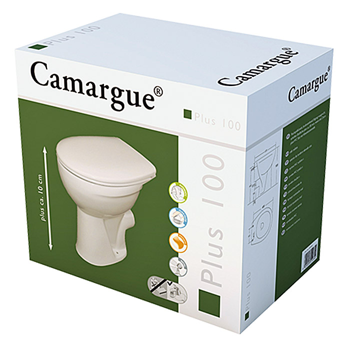 camargue erh htes stand wc plus 100 tiefsp ler wc abgang waagerecht 10 cm erh ht mit wc. Black Bedroom Furniture Sets. Home Design Ideas
