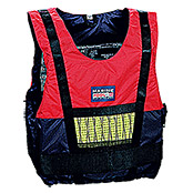 Marinepool Regattaweste (50 - 70 kg, 50 N, Navy/Red)