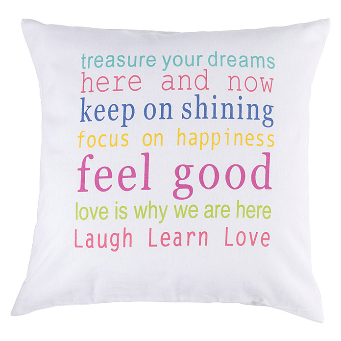 KISSEN FEEL GOOD 04 BUNT 45X45cm