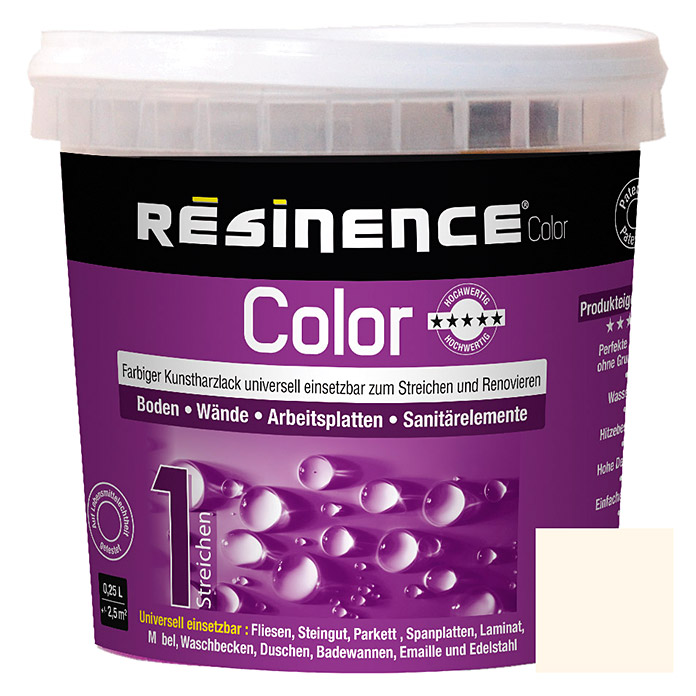 RESINENCE COLOR     250 ml MILCHIG