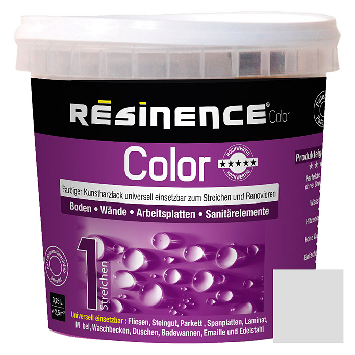Résinence Color Farbiger Kunstharzlack (Leinen, 250 ml)