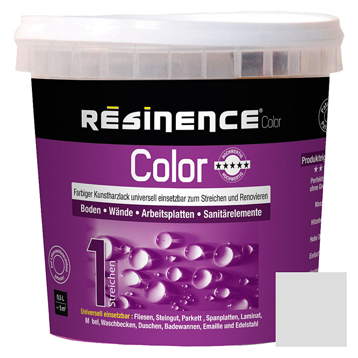 Résinence Color Farbiger Kunstharzlack (Leinen, 500 ml) -