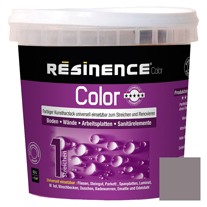 Résinence Color Farbiger Kunstharzlack (Beton, 500 ml) -