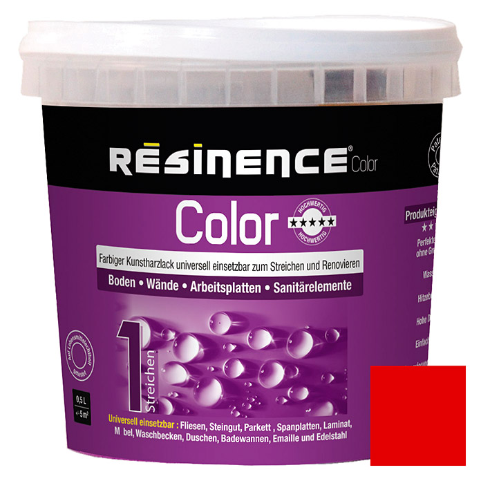 RESINENCE COLOR     500 ml ROT