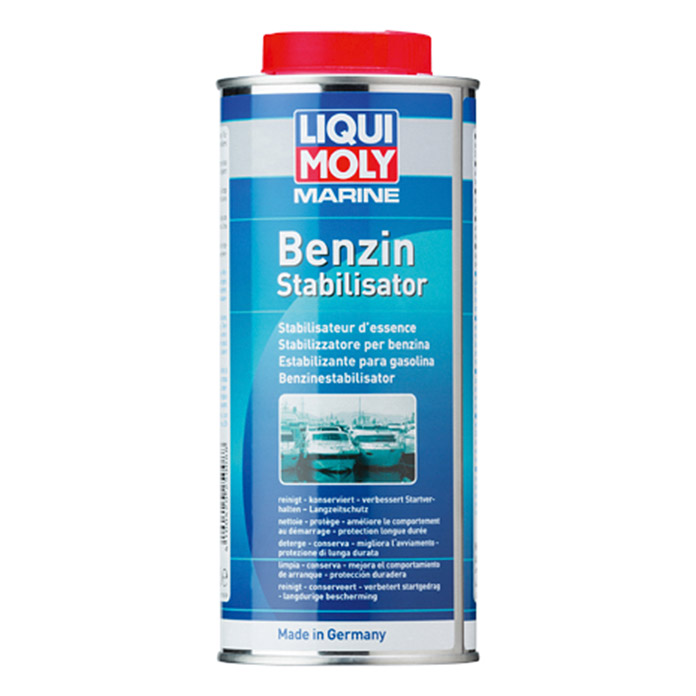 liqui moly marine benzinstabilisator geeignet f r benzinmotor 500 ml 1385 motoroele. Black Bedroom Furniture Sets. Home Design Ideas