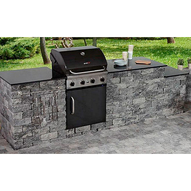 EHL Outdoorkitchen-Set XL (Grau/Anthrazit)