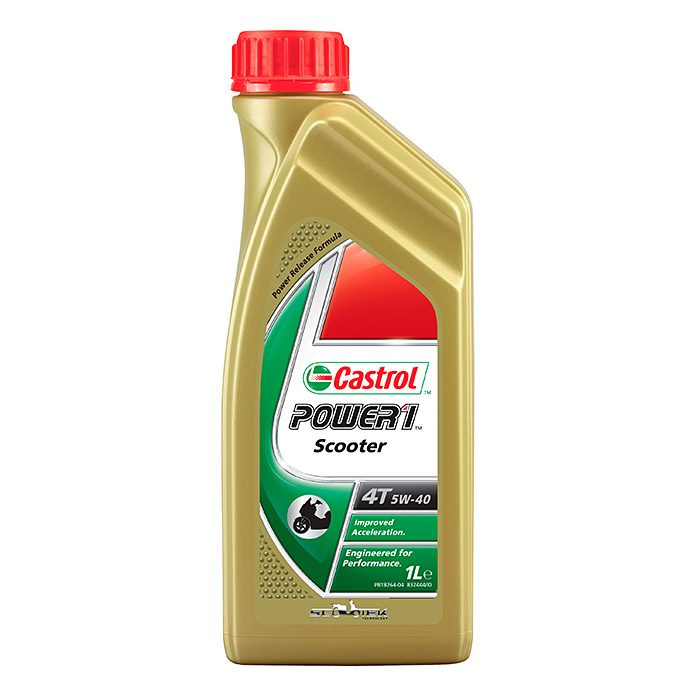 POWER 1 SCOOTER 4T  5W-40  1 l          CASTROL