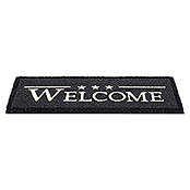 RUCO PRINT 26X75 cm WELCOME STARS BLACK