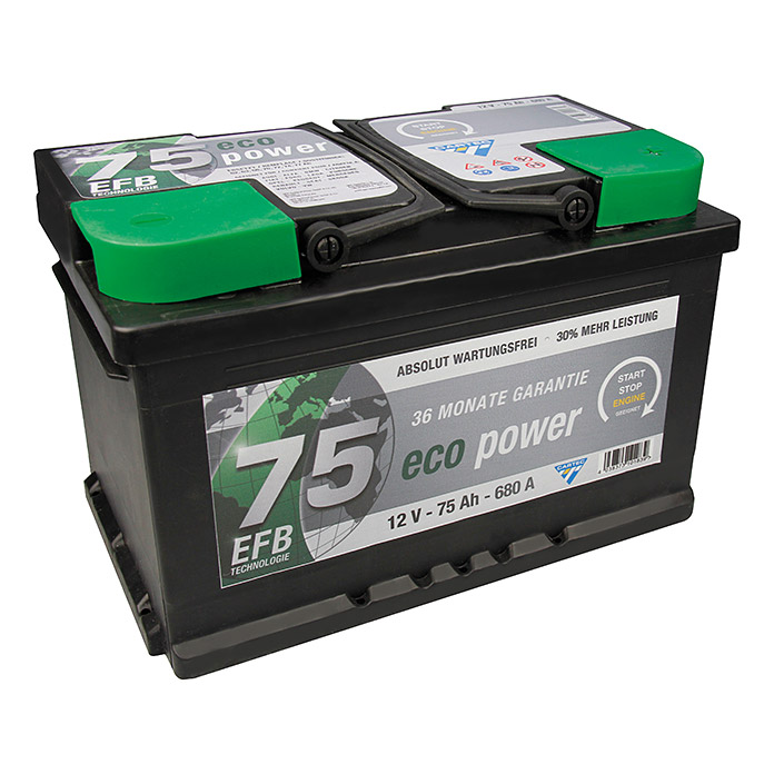 CARTEC BATTERIE     12V / 75AH